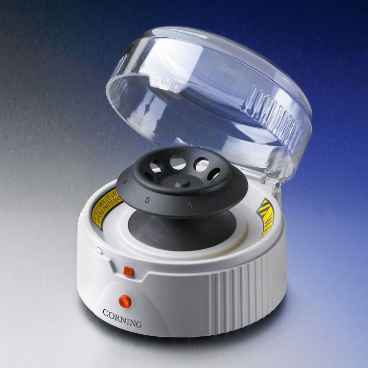 PERSONAL MINI-CENTRIFUGE W/ROTORS AND ADAPTORS